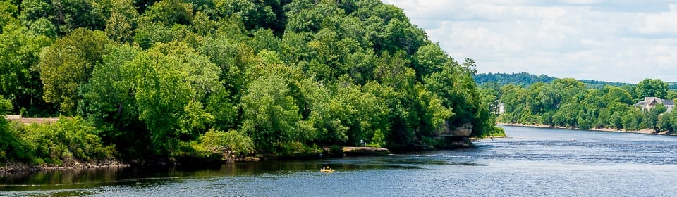 The Chippewa River, Eau Claire, WI